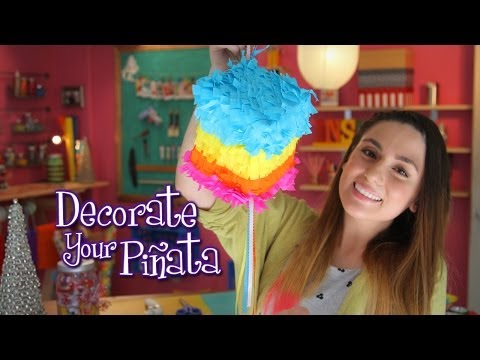 DIY: Make your own Piñata - Idea Lab: Raiza Revelles (English)