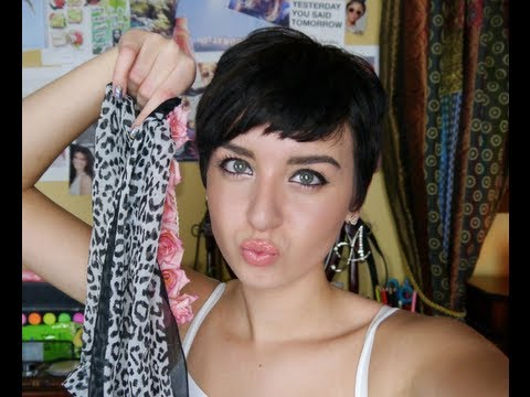 Styling Your Growing Out Pixie Cut: Short Pixie!   Augusta Jeorgia