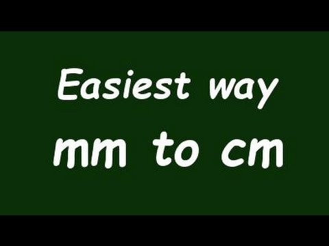 ✅ Convert Milimeter to Centimeter (mm to cm) - Formula, Example, Convertion Factor