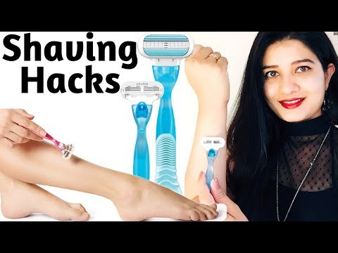 Shave Your Legs & Hands Perfectly | DIY Scrub & Shaving Routine |Get Rid of Strawberry Skin