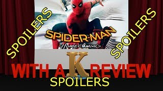 Spiderman Homecoming Spoiler Review