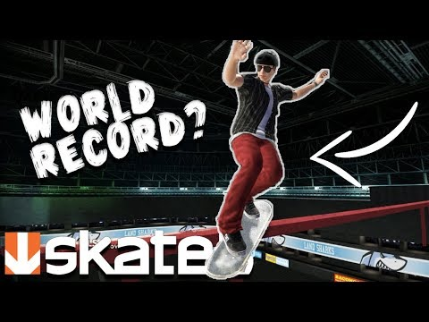 Skate 3: LONGEST GRIND CHALLENGE!? (900+ FEET)