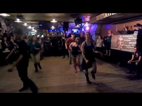 FAKE ID LINE DANCE AT COYOTE MAVERICK
