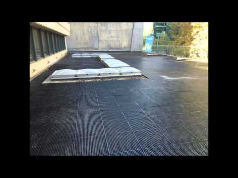 Commercial rooftop job | Synthetic Turf Installers melbourne