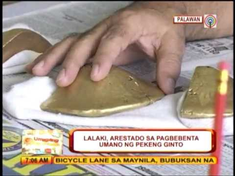 Suspect nabbed for selling fake gold bars in Palawan