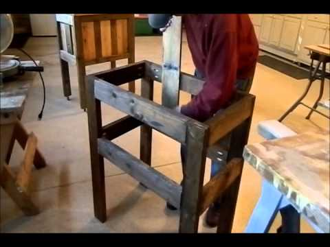 Pallet wood Cooler  How to
