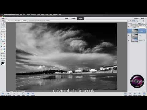 Black and White in Photoshop Elements