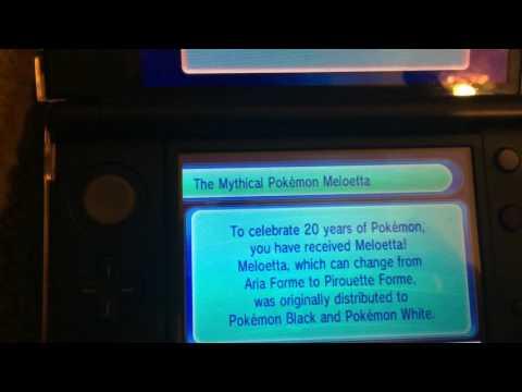 Pokemon Event: Meloetta