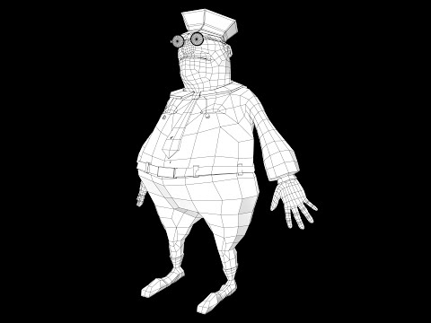 Render wireframe with mentalray