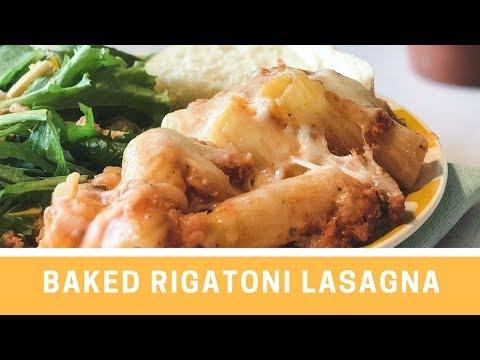 Baked Rigatoni Lasagne | Family Dinner | Jenny On The Spot