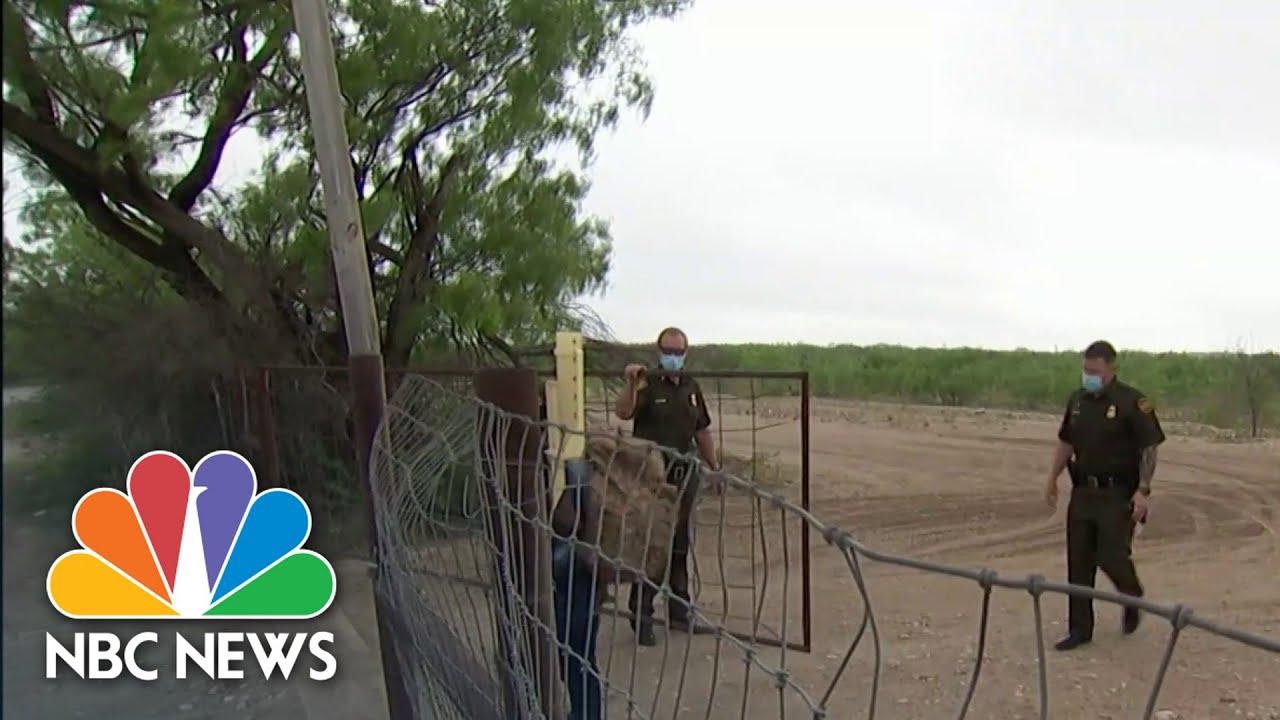 First 100 Days: Biden's Challenge At The U.S.- Mexico Border | NBC Nightly News