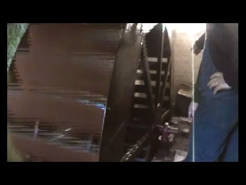 Generating electricity with a water wheel, investigations into gearing. Part 1 of 3