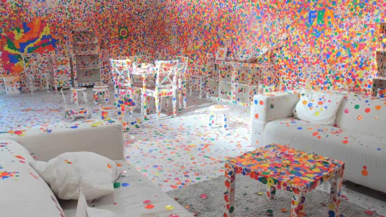 Yayoi Kusama's Obliteration Room | TateShots