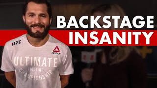 10 Insane Backstage Moments in MMA