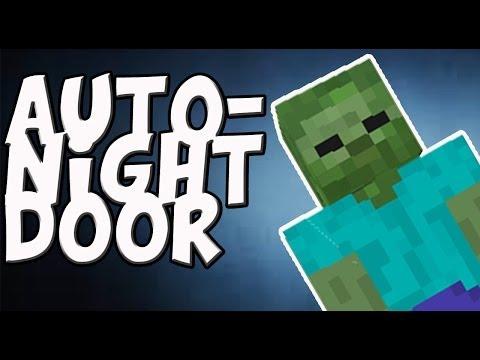 Minecraft: Automatic Night Door Tutorial