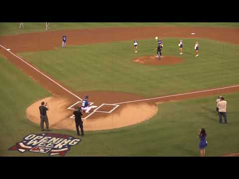 Vegas Strong Resiliency Center Opens Las Vegas 51s Season with First Pitch