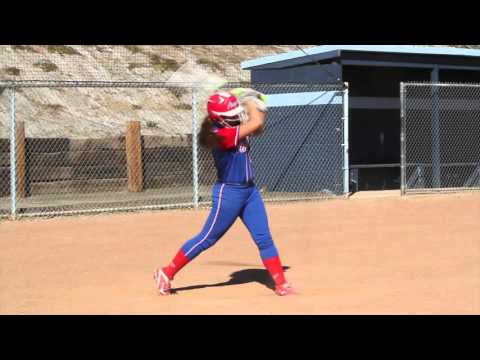 Jessica Cordola  Class of 2018 (First Base, Third Base) - Softball Skills Video