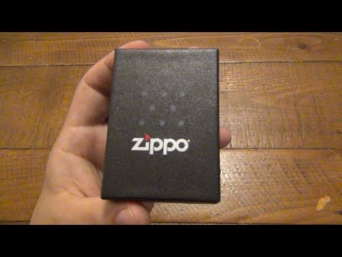 Funny New Zippo Design & I Discovered Something New About Zippo's Policy !!!
