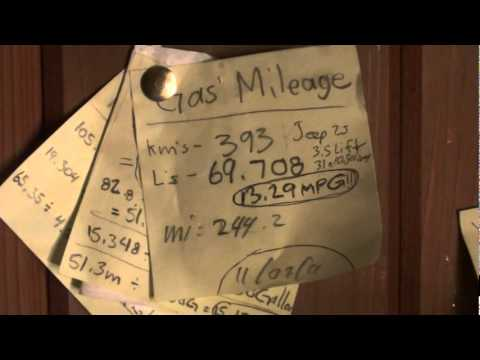 How to calculate Fuel Mileage - Short Video