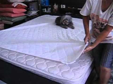 How to change the bed sheet w/o getting out of bed?