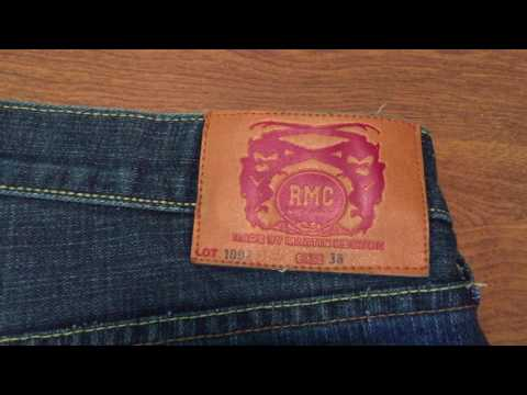 Reselling Clothing On Ebay Tip #1 How To Spot Counterfeit Red Monkey Company Jeans FAKE!