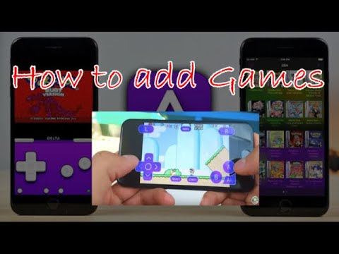 How to Add Roms in Delta emulator on iOS..!