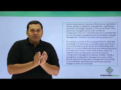Service Asset & Configuration Management Example