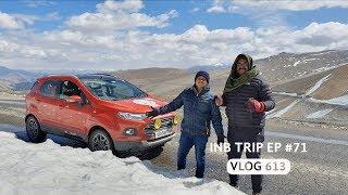 Leh to Taglangla Pass @ 17,500 Feet - Extreme Adventure, INB Trip EP #71