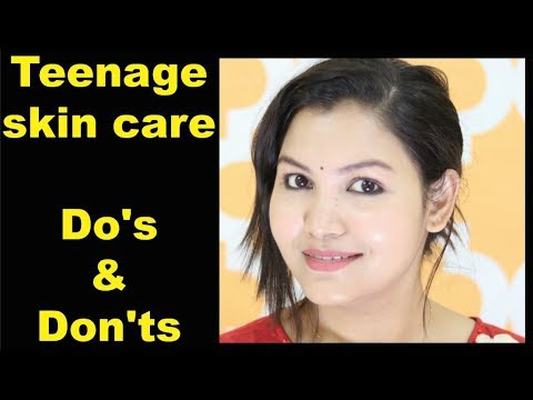 Teenage skin care /Do's & Don'ts/Product Recommendatio/INDIANGIRLCHANNEL TRISHA