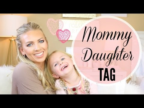 Mommy Daughter Tag | Lily - Age 4