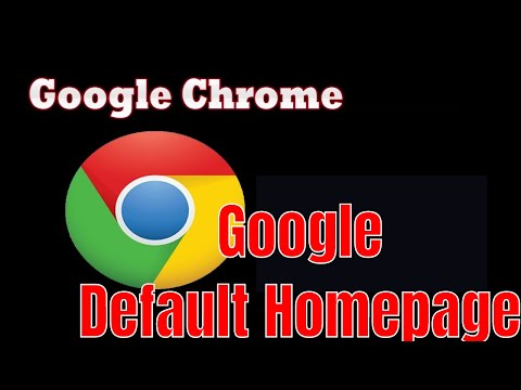 how to set google as default search engine google chrome