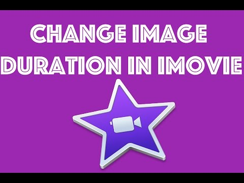 Change the duration of images in iMovie | iMovie Beginners Tutorials