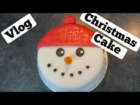 How to make a Christmas cake recipe:Vlog!(Gluten free)