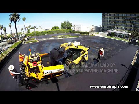 Asphalt Overlay Done in Long Beach Calfornia