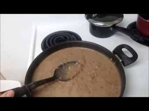 Fast and Easy Refried Beans--- Homemade !!!!!