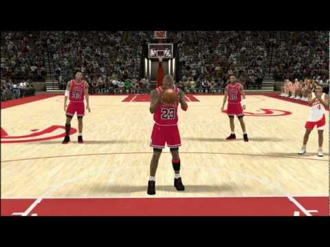NBA 2k12 - Michael Jordan - Maybe it's my fault ( fan made)