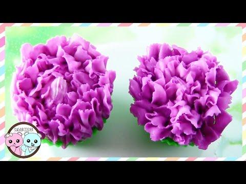 CARNATION CUPCAKES, CARNATION CAKE, FLOWER CUPCAKES - SUGARCODER