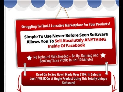 Social Mini Store Review - Sell Your Products or Offers on Facebook
