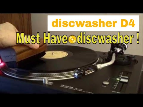 Vintage DiscWasher Vinyl Record Cleaner Makes a Comeback