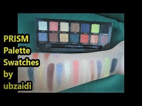 Anastasia Beverly Hills PRISM Eye Shadow Palette Swatches by ubzaidi