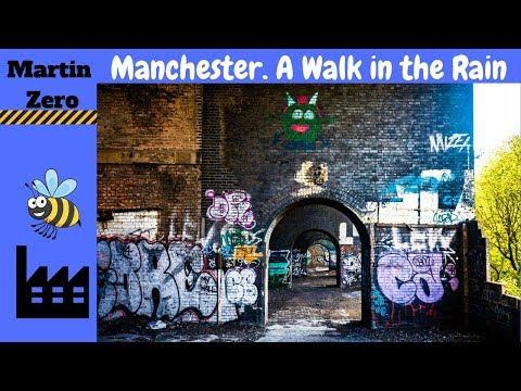 Manchester. A walk in the rain.