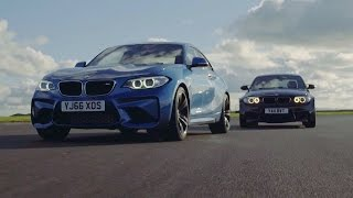 BMW M2 vs BMW 1M Coupe - Chris Harris Drives - Top Gear