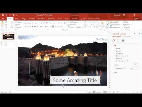 Quick Tip: Microsoft PowerPoint: Change Shape