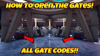 HOW To Unlock The GATES In The New Fortnite Creative Hub! ALL GATE CODES For The NEW Hub!
