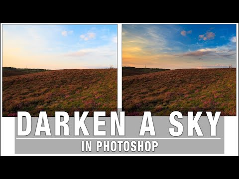 How to Darken a Sky in Photoshop