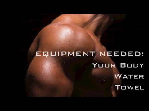 Beginner Bodyweight Exercise Circuit Training