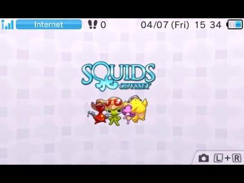 [eShop EU] Squids Odyssey 3DS - First Look