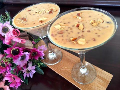 Butterscotch Sago Payasam | Sabudana Kheer | ബട്ടർസ്കോച് ചവ്വരി പായസം