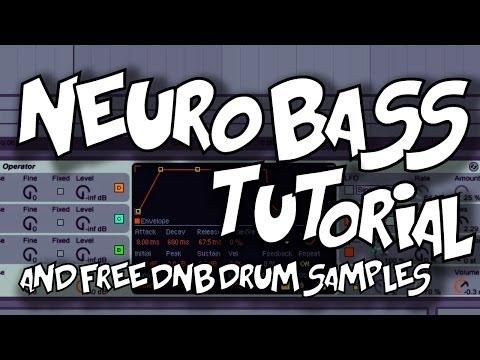 Neuro Bass Tutorial and free Aggressive DNB Beats