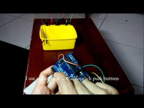 DIY Foot Controller for Guitar Rig (Arduino)